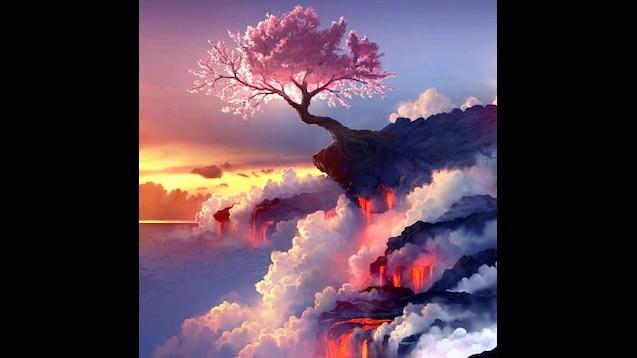Steam Workshop Cherry Blossom Lava