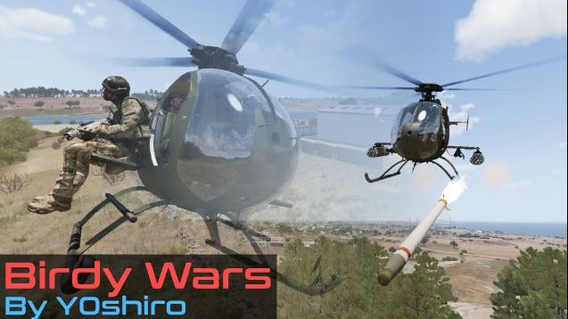 MP] Birdy Wars - Where Little Birds Soar! [Mainly PvE and