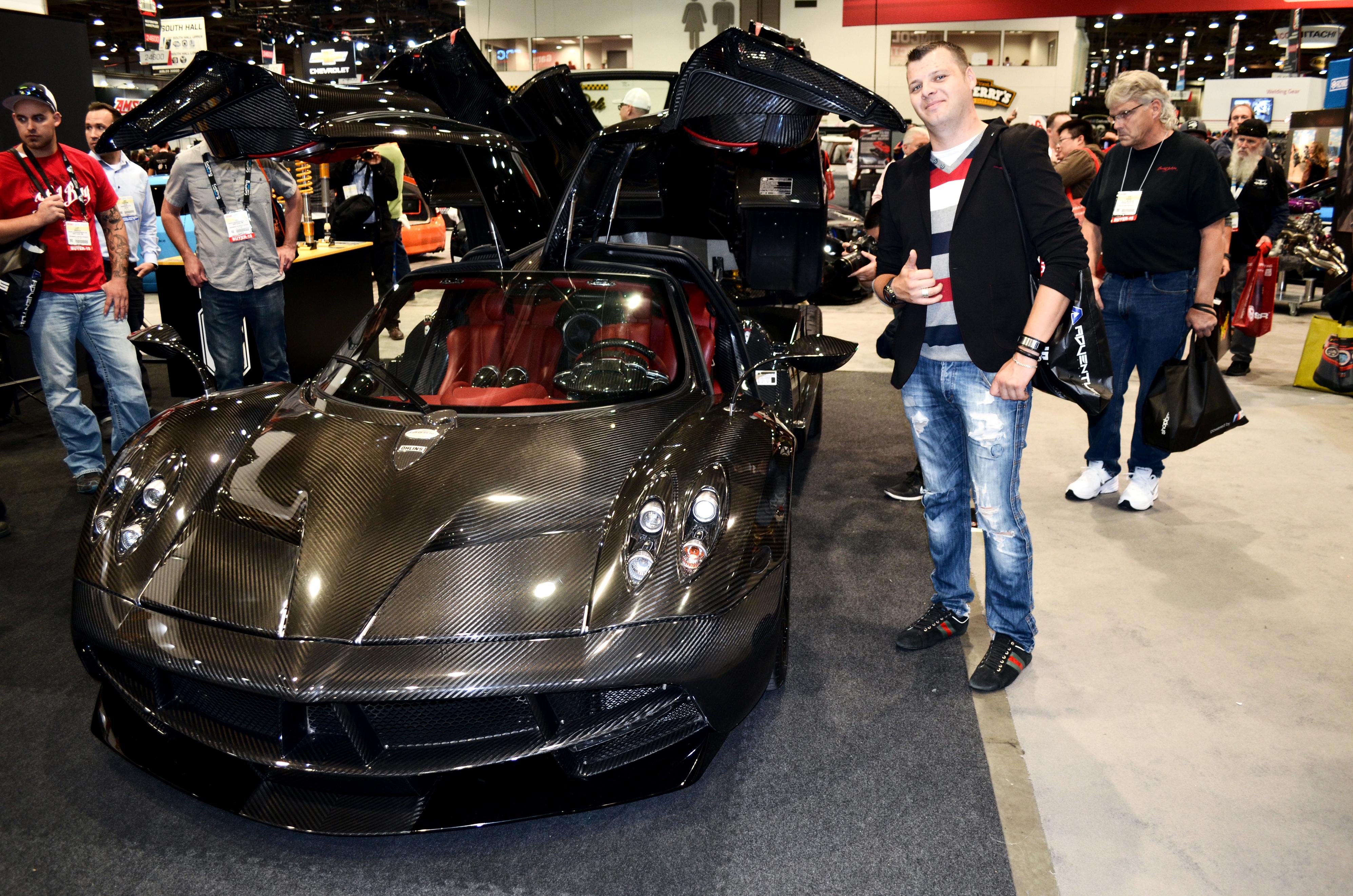 Sema Car Show >> Steam Community Sema Car Show One Of A Kind Pagani