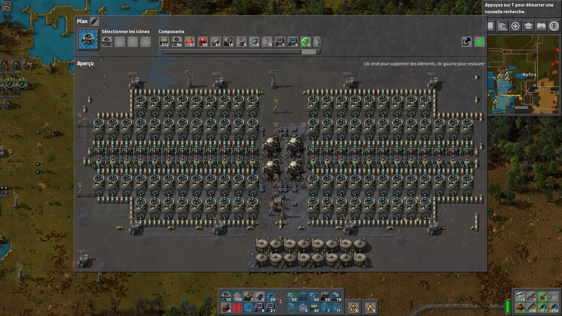 160MW Nuclear Setup, no waste w/ minimal storage tanks