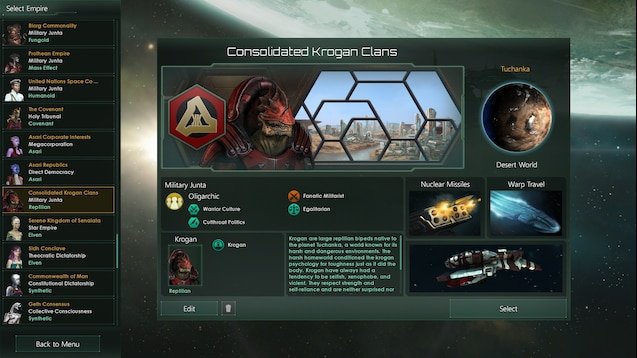 Steam Workshop Consolidated Krogan Clans Fixed And Update