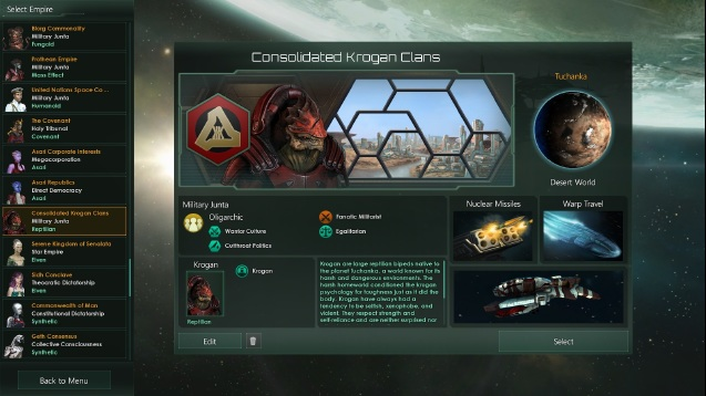 Consolidated Krogan Clans Fixed And Update Skymods