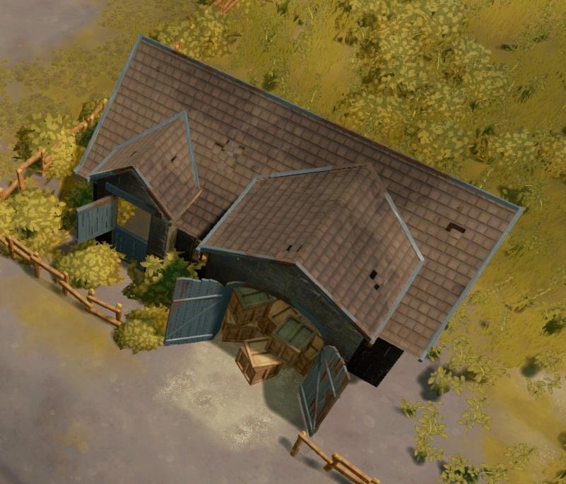 станция снабжения в foxhole