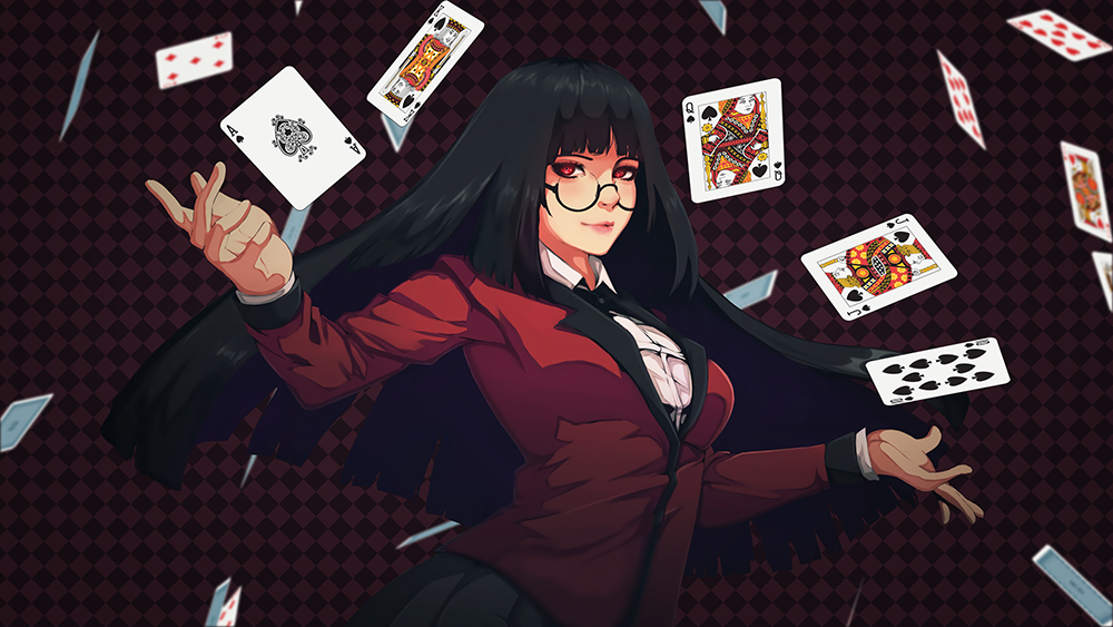 Steam Workshop 賭ケグルイ Kakegurui Animated Wallpaper