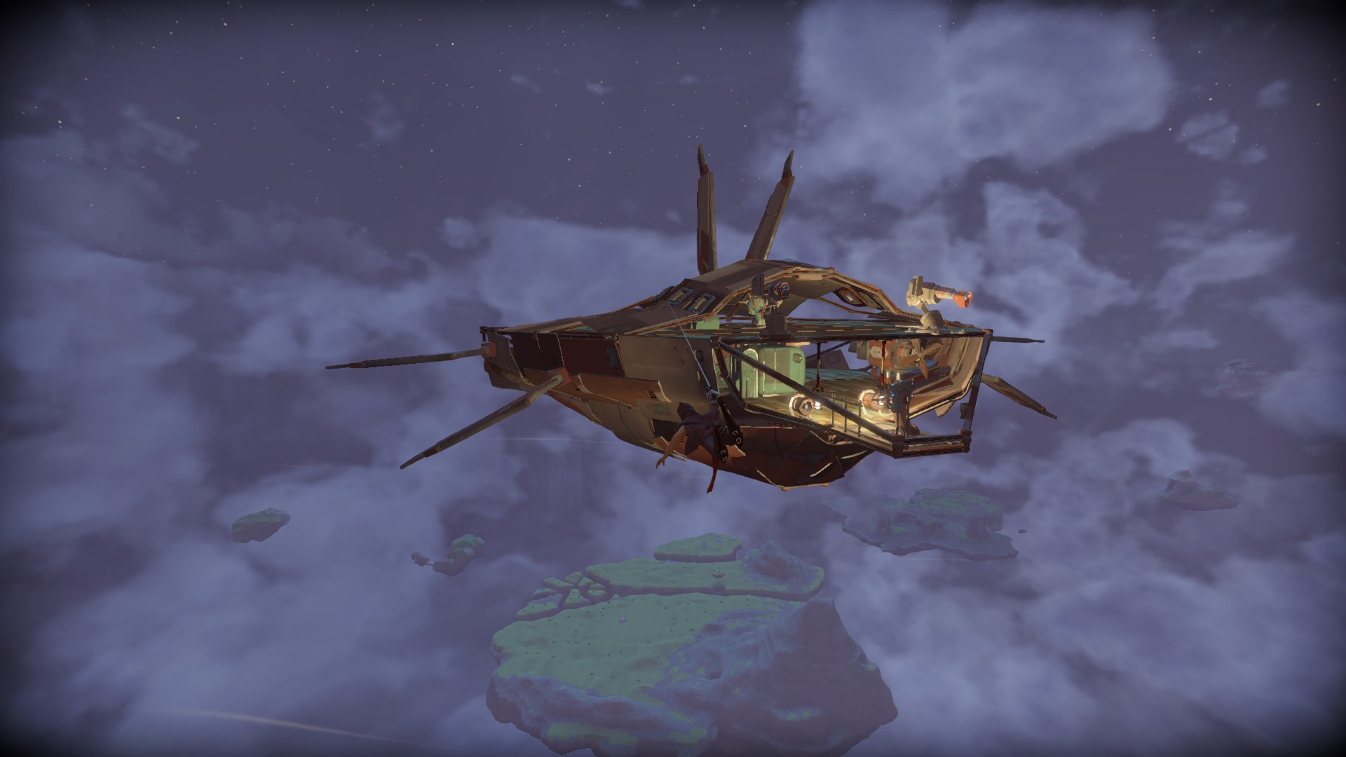 Big Ship Designs - Worlds Adrift
