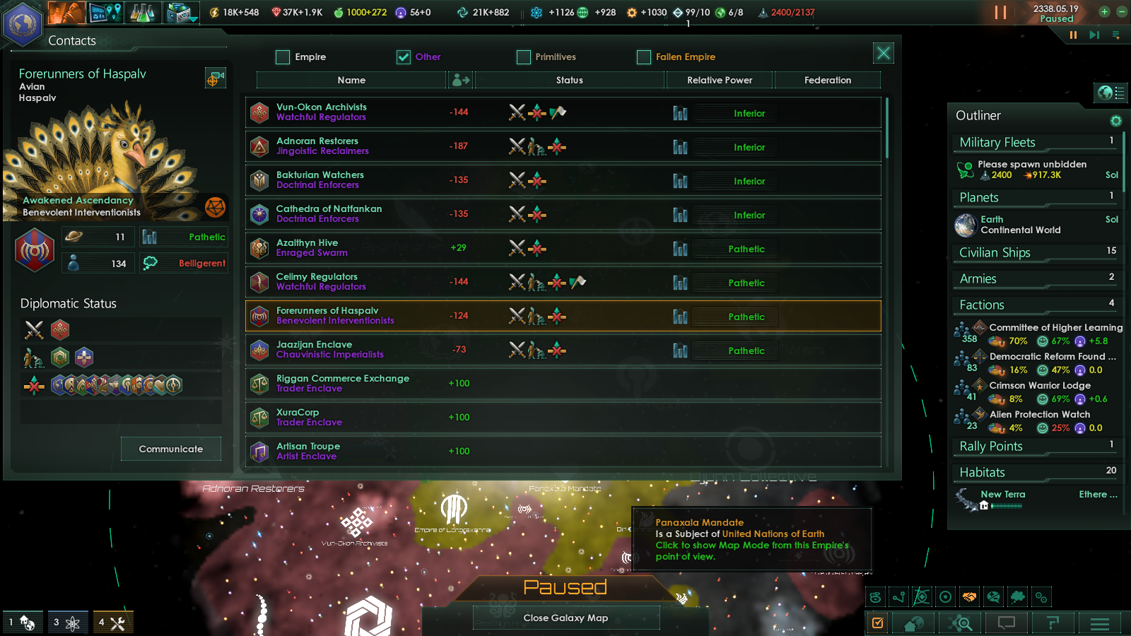 Steam Community Guide 191 The One Planet Strategy Strat 4 Way Switch Options For This Setup Harmony Central Using Fallen Empires Expanded V15 To Spawn 10 Fe After 2300 I Awoke All Of Them Console Command They Pretty Muchwhole Galaxy Except