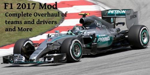 F1 2017 Mod (Currently Broken)