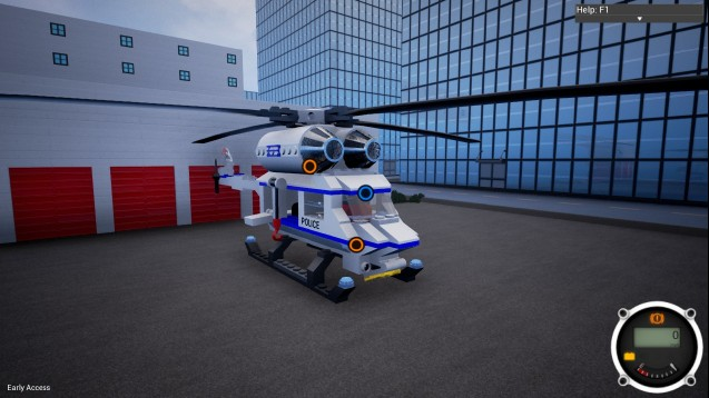 Steam Workshop Lego City Police Helicopter Super Easy To Fly