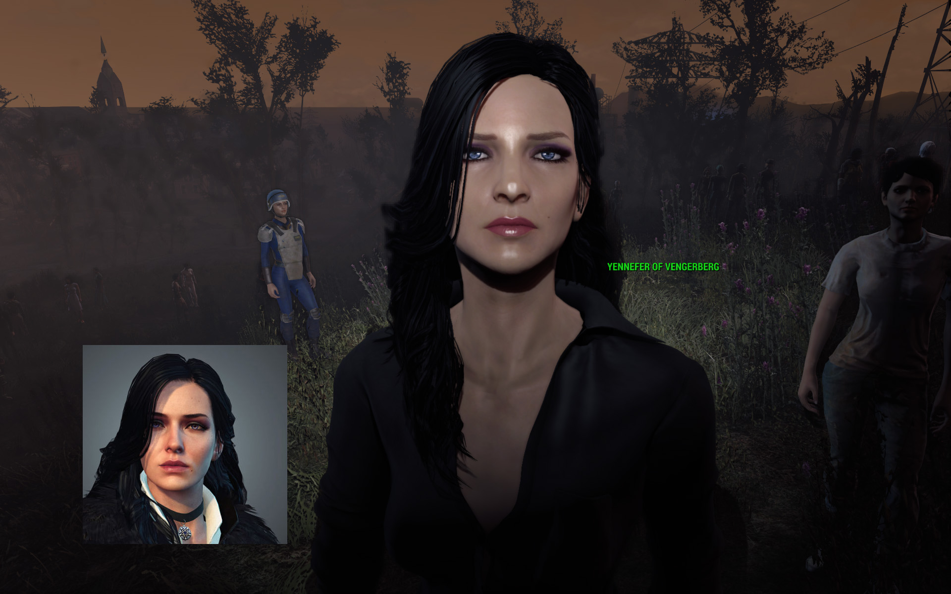 Steam Community :: :: Fallout 4 with Yennefer of Vengerberg