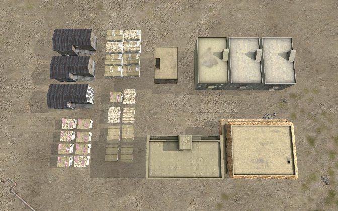MBG Buildings African Generic (Arma2 Legacy)