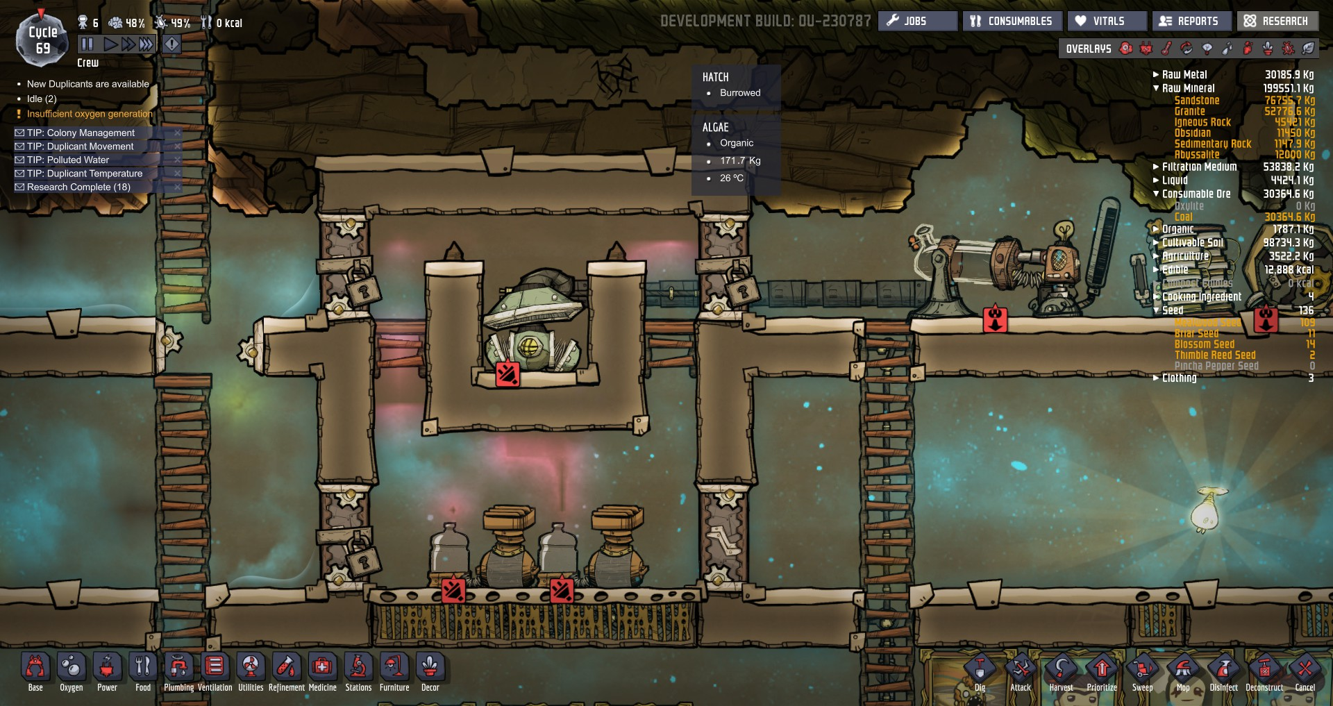 how to use hydrogen generator oxygen not included