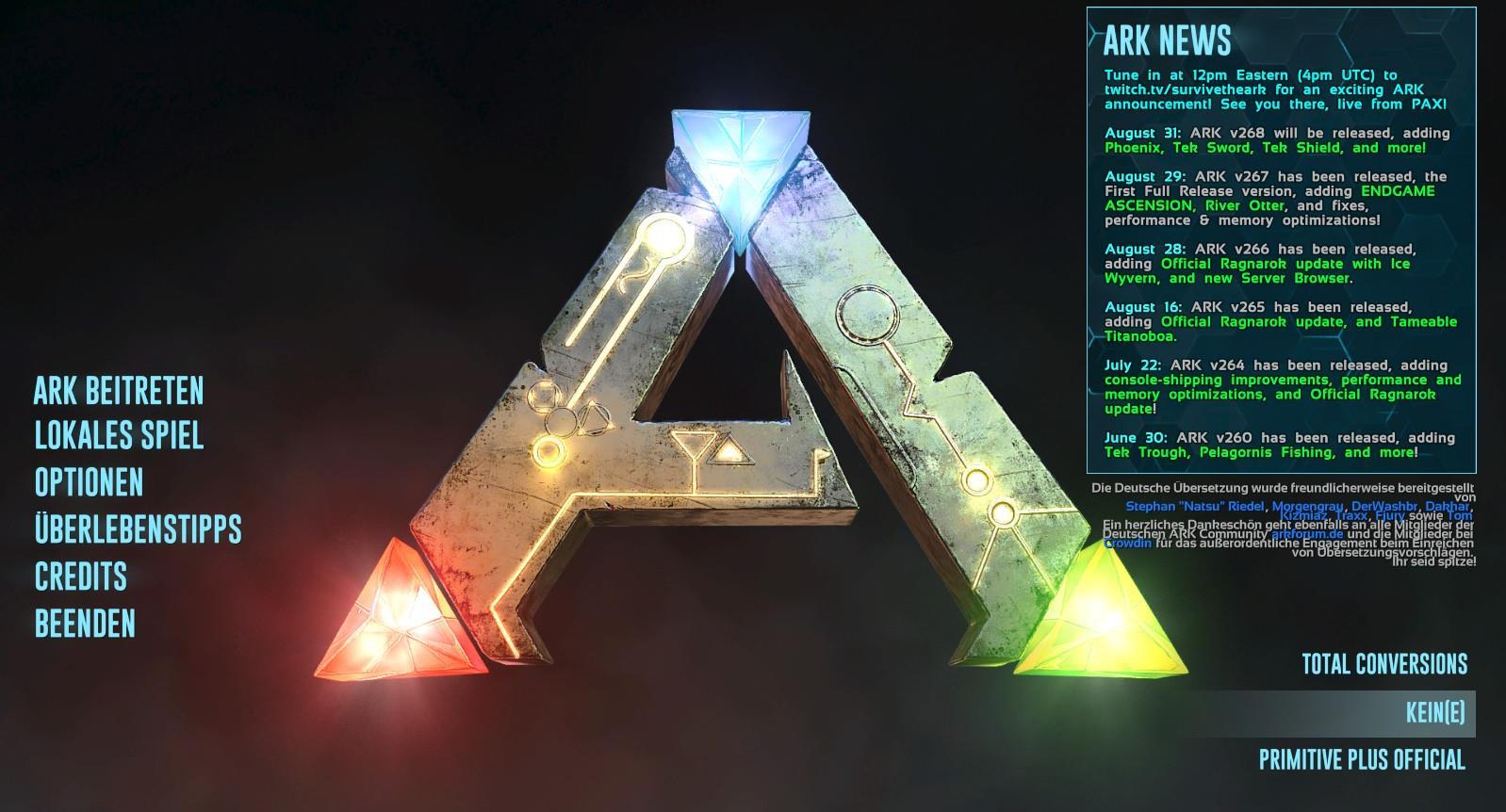 Steam Community :: Guide :: Ark: Survival Evolved - Anfänger Guide v2.3
