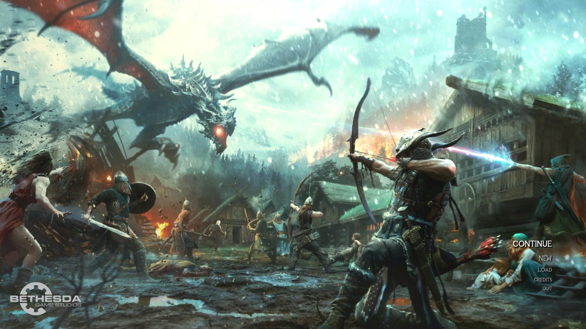 Steam Workshop Main Menu Replacer Heroes Of Skyrim