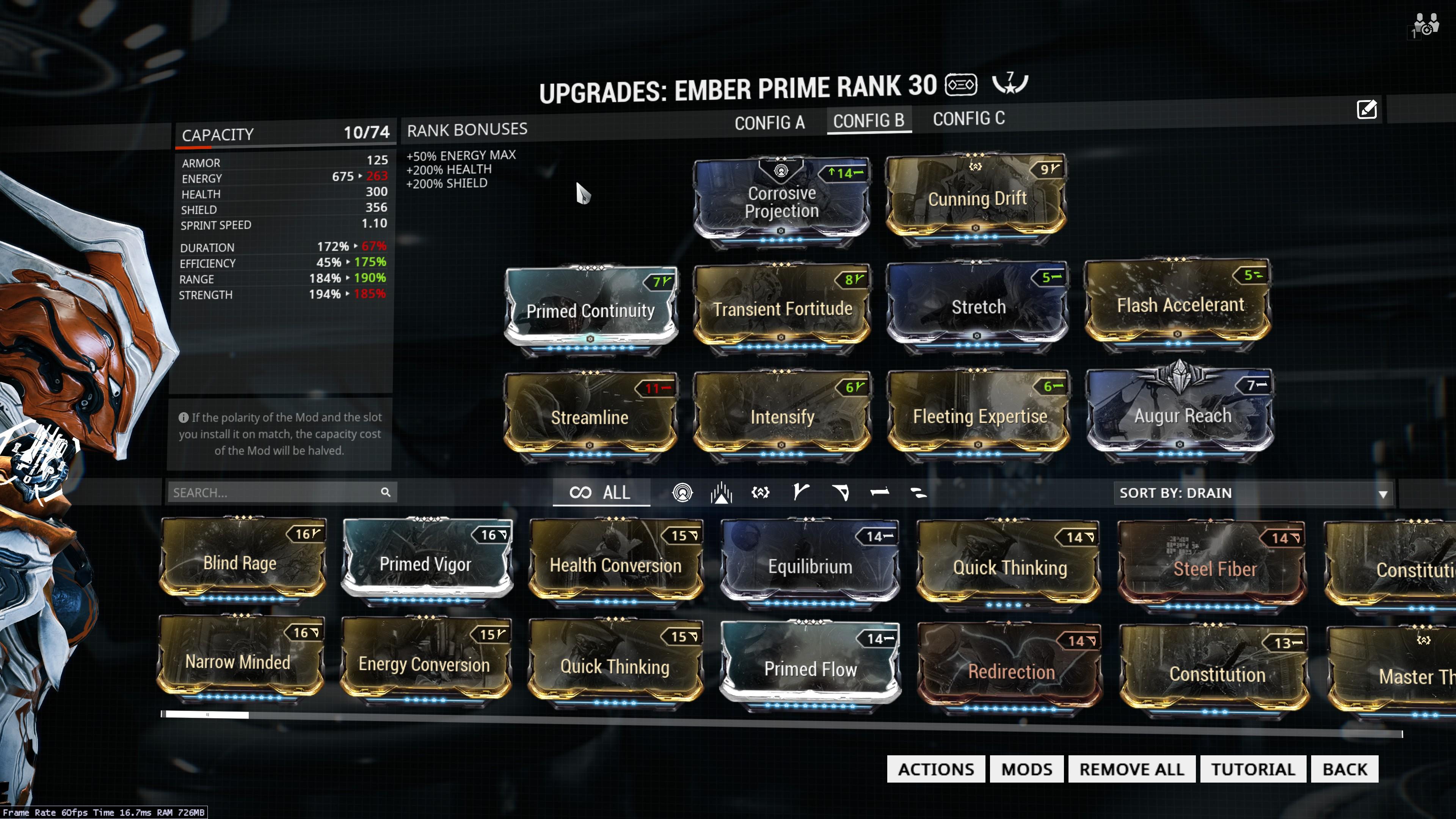 Warframe Flash Accelerant Build