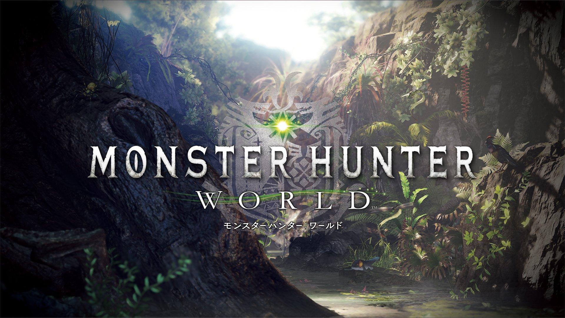 Image result for monster hunter world title screen