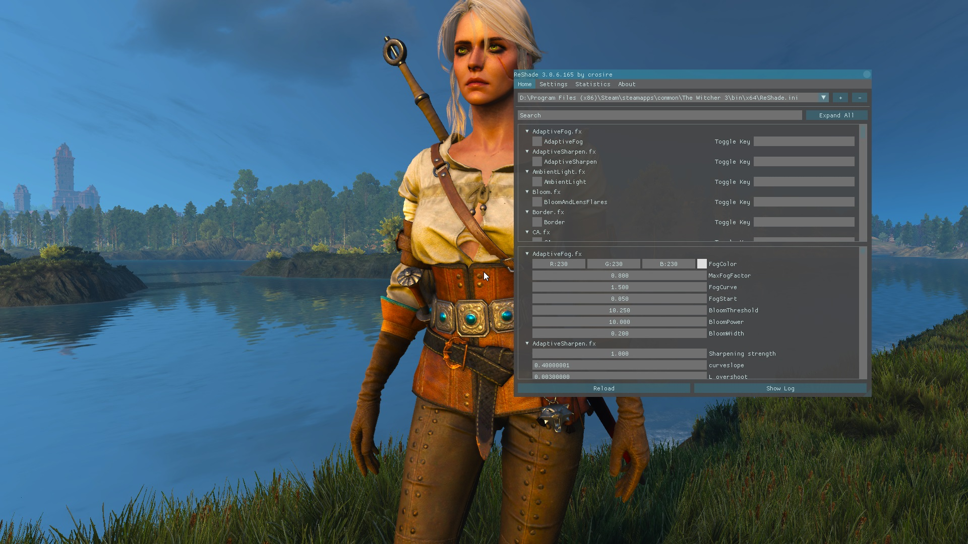 Steam Community :: Guide :: Witcher 3 and ReShade: All you need to
