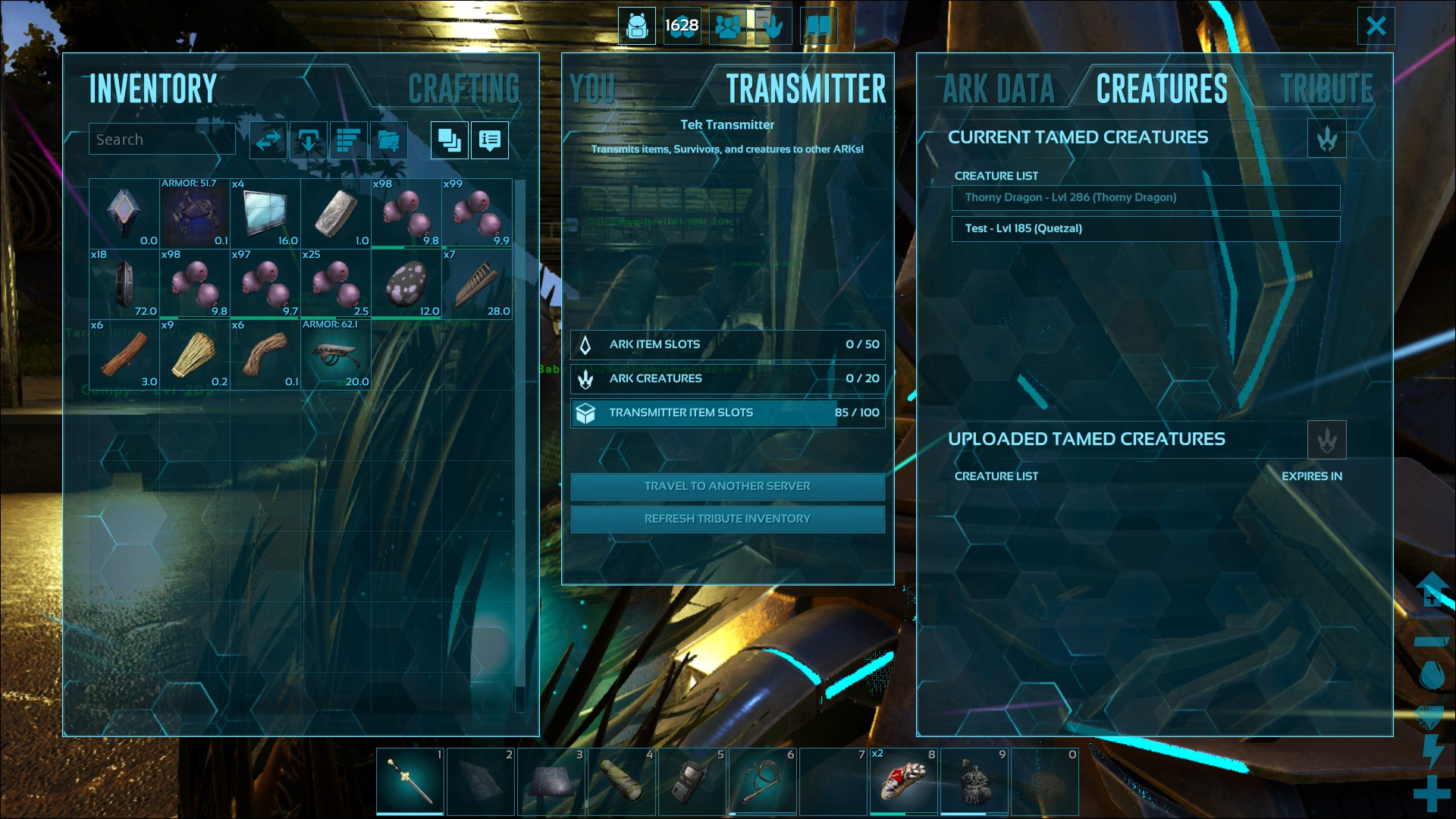 Cant reupload tames - Bug Reports & Support - ARK - Official