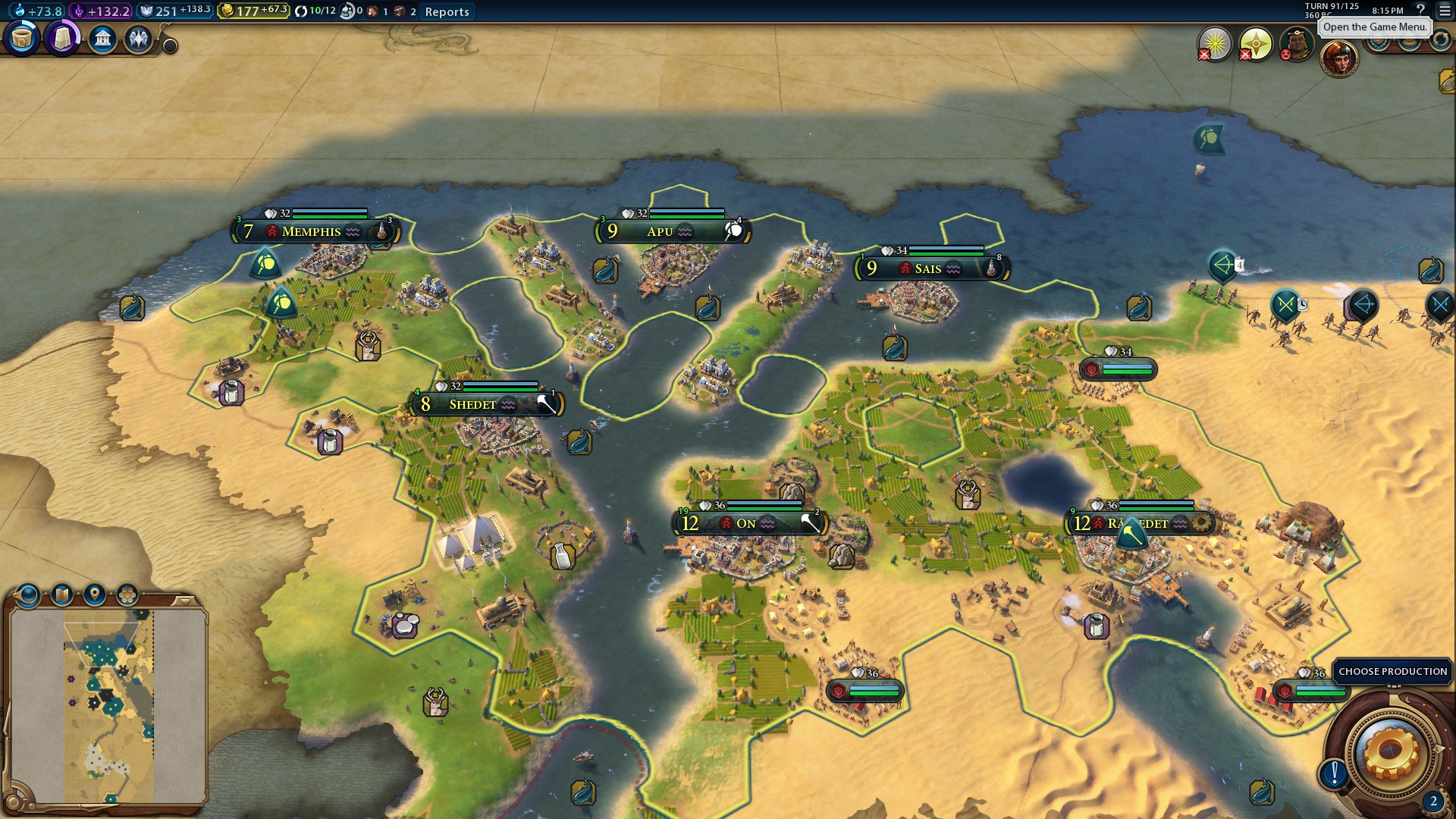 Steam Community :: Guide :: Gifts Of The Nile Scenario Guide