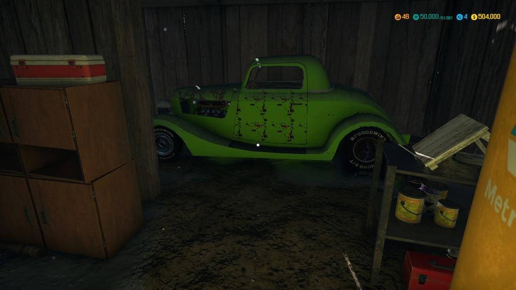 Steam Community :: Screenshot :: My mod car as barn find