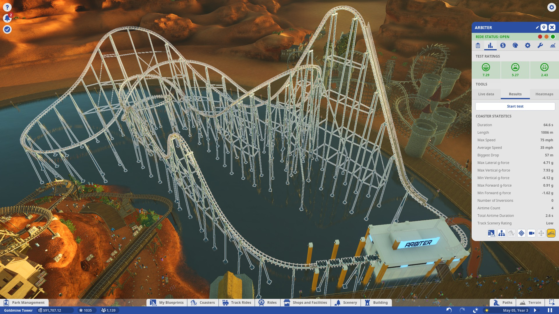 Steam Community Guide Career Mode Walkthrough Roller Coaster Here Is A Wonderful Diagram Which Shows What Happened Standing At One End Of The Spectrum Types Iron Horse Asks You To Create High Speed Intensity Ride With Fairly Substantial Average