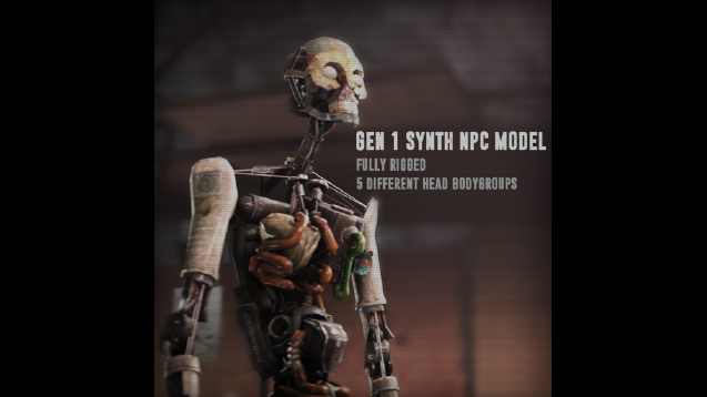 steam workshop fallout 4 generation 1 synth npc player model