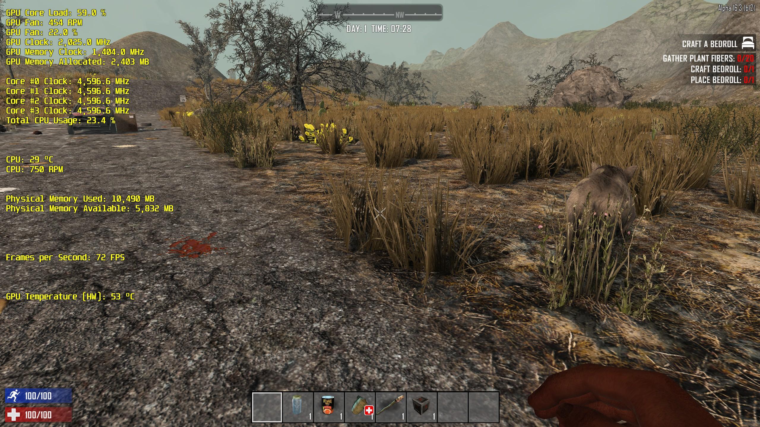 Steam Community :: Screenshot :: 1080Ti 7D2D Voxel based game