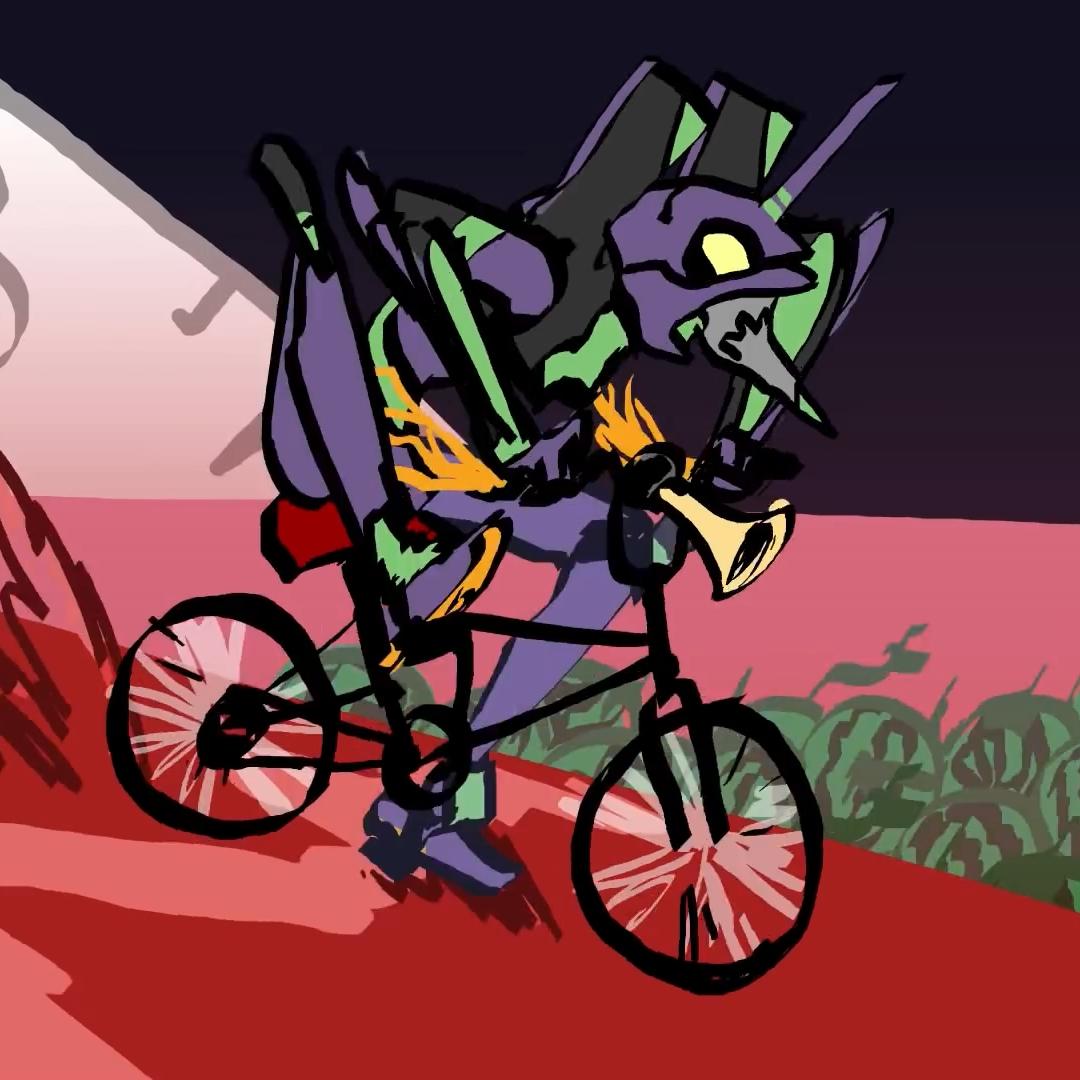 cruel angels thesis bike horn