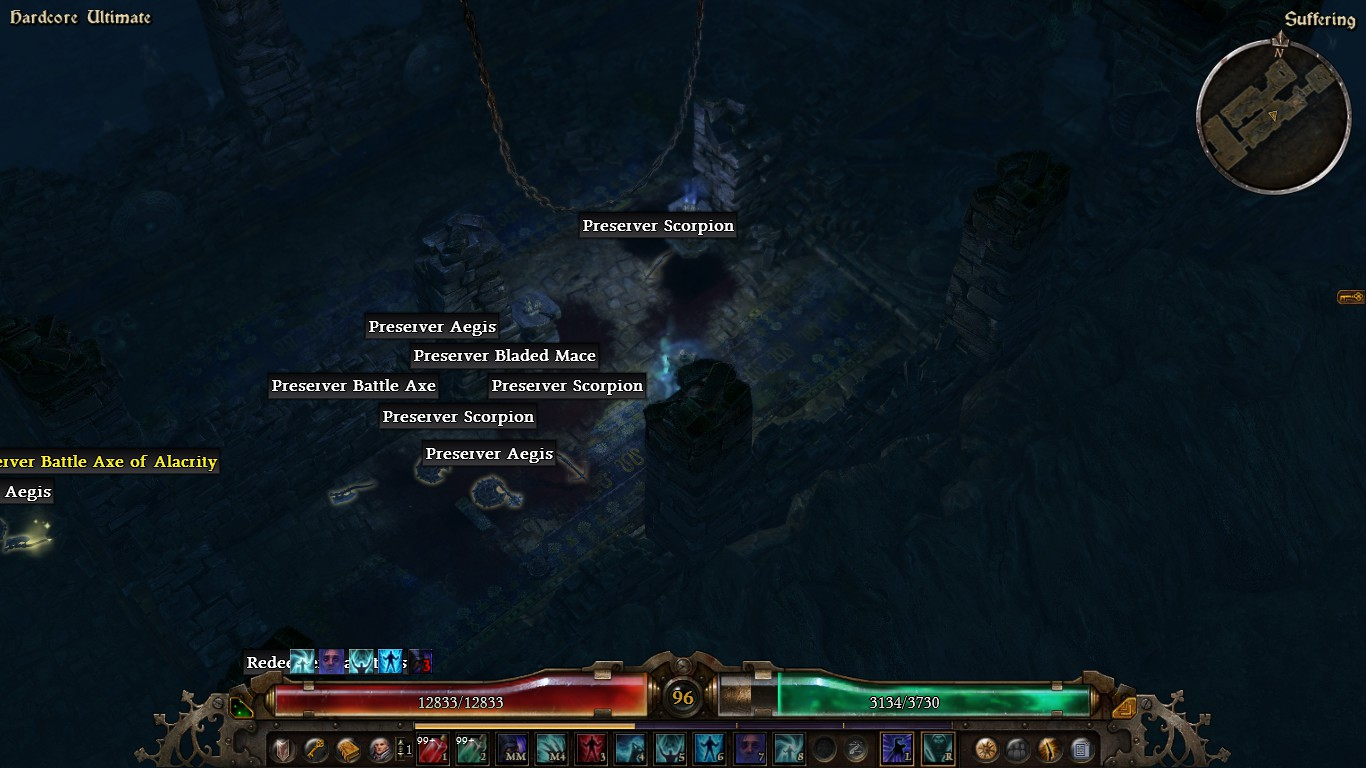 Grim Dawn: now my character is a teleporting cloud of