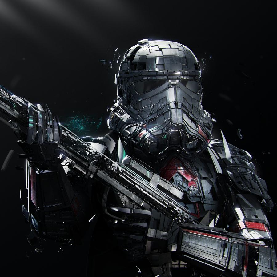 Star Wars Storm-Trooper Armor Wallpaper Engine
