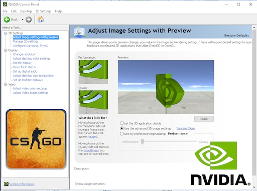 Steam Community :: Guide :: Advanced NVIDIA Settings guide +
