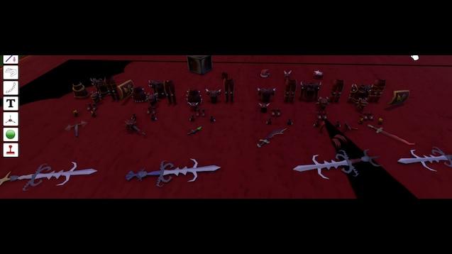 Steam Workshop Dragon Armor Sets Dragon Weaponry More Runescape