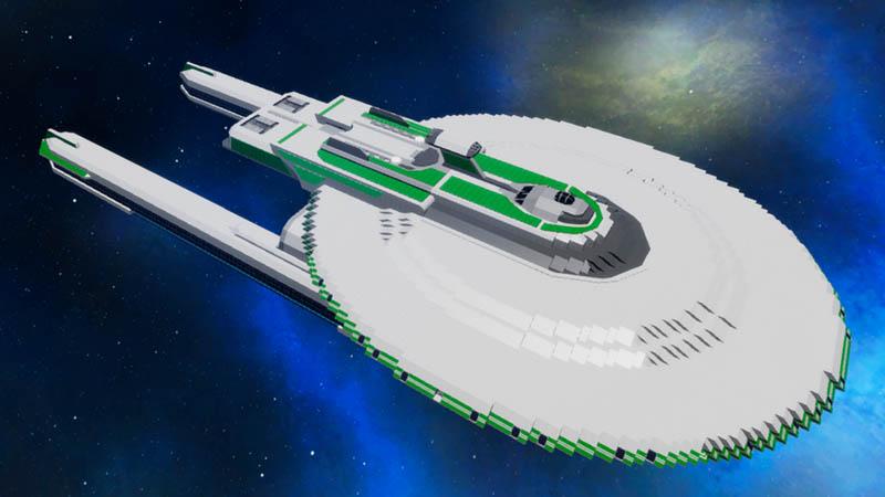Star Trek Leavenworth Class Frigate