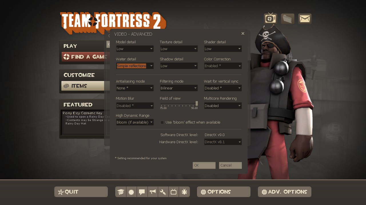 tf2 best config