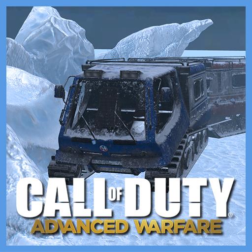 COD: Advanced Warfare Multiplayer DLC Map Fracture (Props)