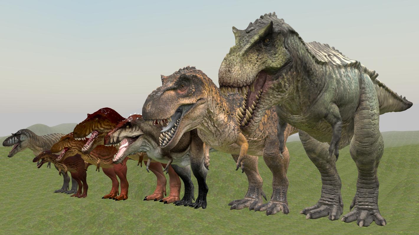 Steam Workshop :: The Isle: Tyrannosaur Pack
