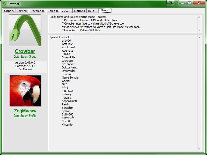 Steam Community :: Guide :: Crowbar (Modding Tool) Guide