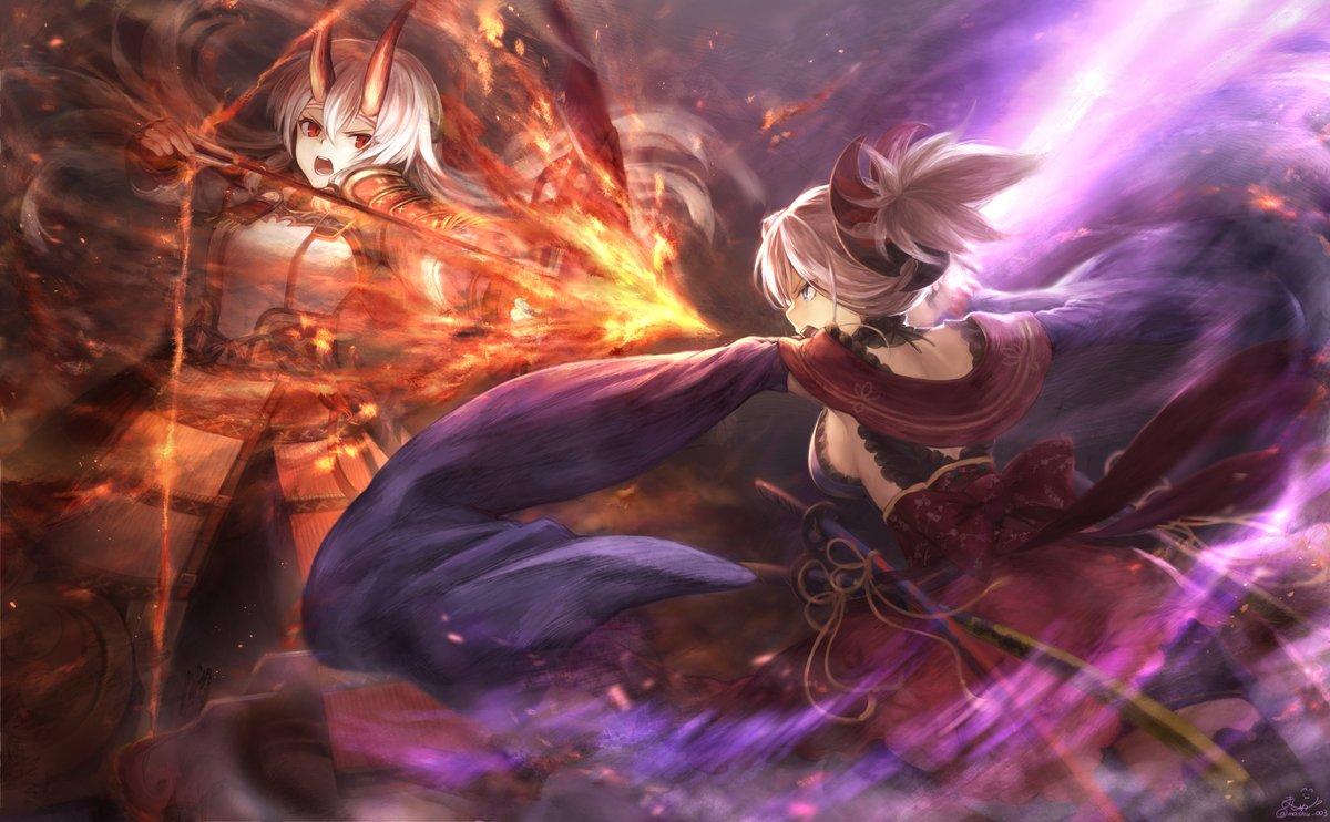 Wallpaper Engine - [FGO] Shimosa Showdown Ver. Ittou Ryouran