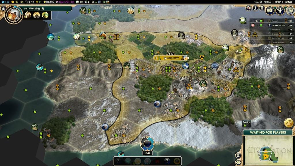 bcb1d90b1f9 Steam Community    Screenshot    Civ 5 City Growing is the best.
