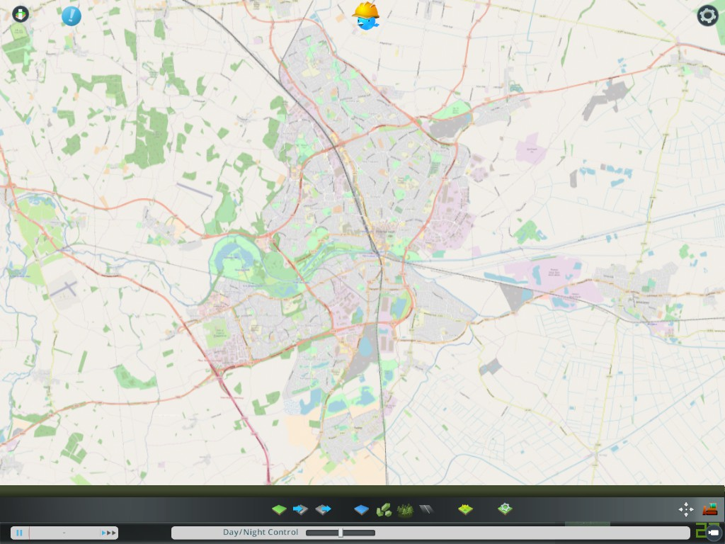 Steam Community :: Screenshot :: Peterborough (UK), street map. on