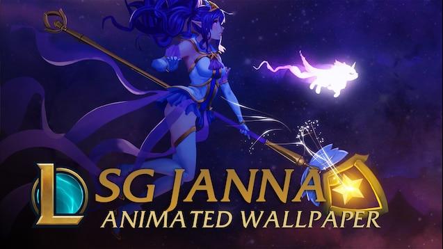 Steam Workshop Star Guardian Janna 1440p Animated