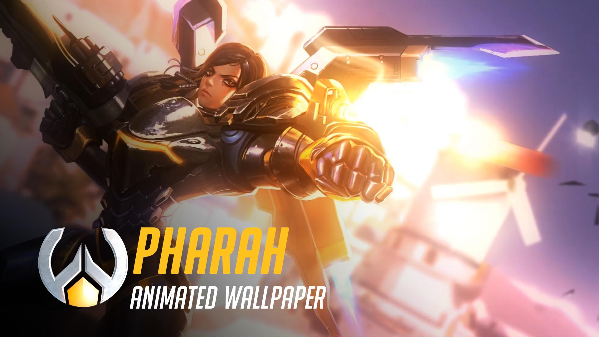 Wallpaper Engine - Pharah | Animated Wallpaper - Overwatch