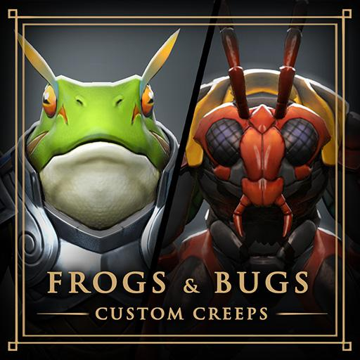 Lane Creeps - Frogs and Bugs