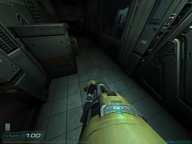 Steam Community Screenshot Doom 3 New Fov Chaingun Minigun