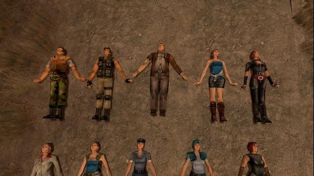 Masterskaya Steam Resident Evil 3 Model Pack