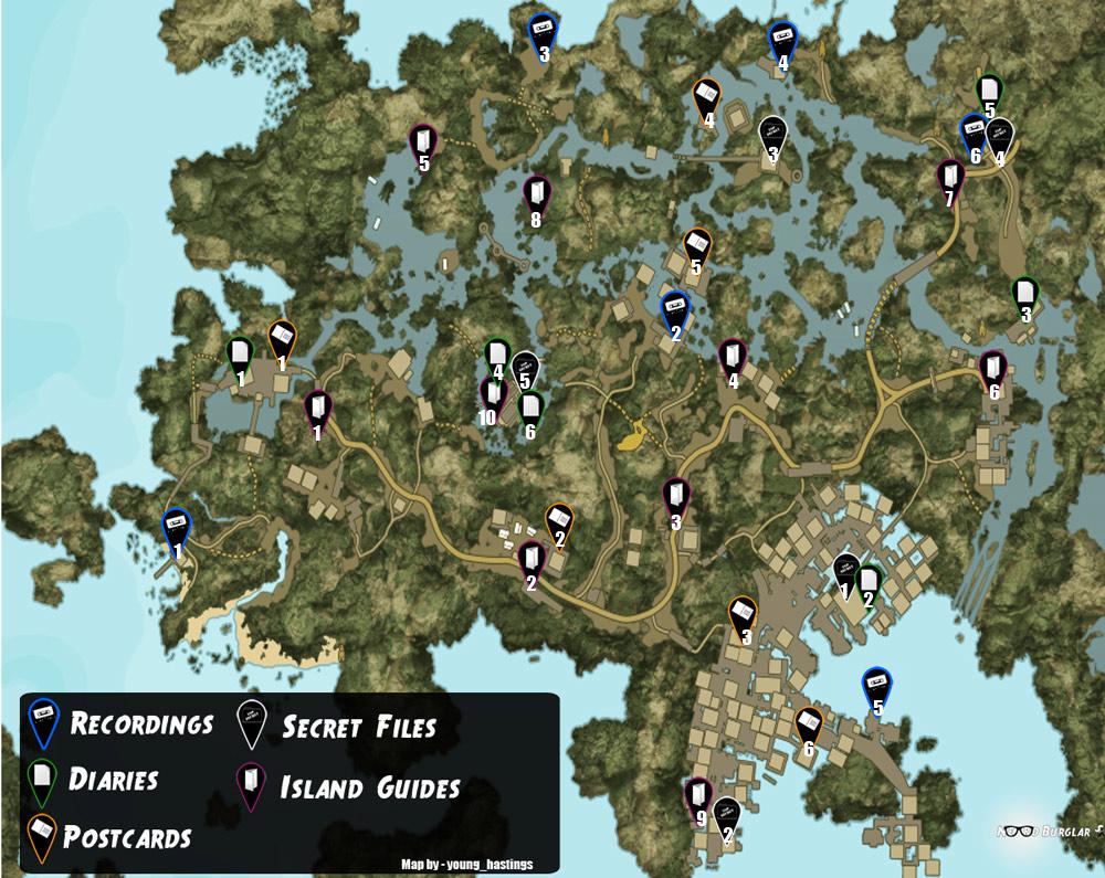 Dead Island Ripdide Blueprints