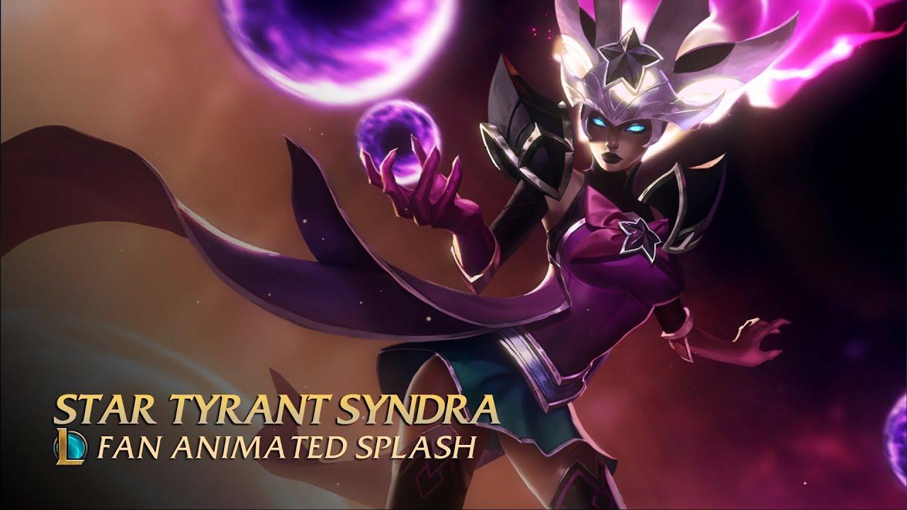 Steam Workshop Star Tyrant Syndra Revealed Animated