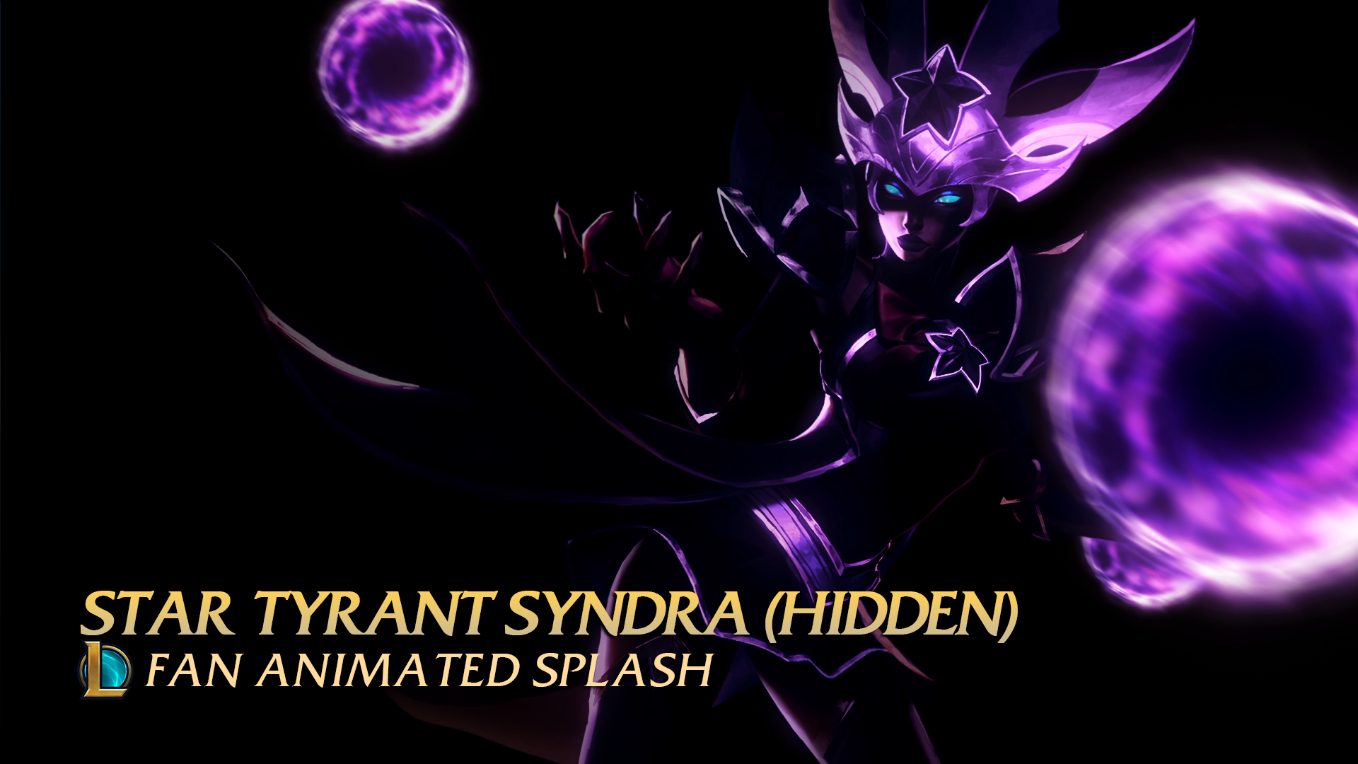 Star Tyrant Syndra Wallpaper Engine