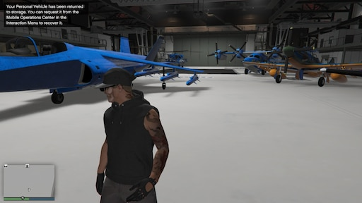 gta v hangar workshop