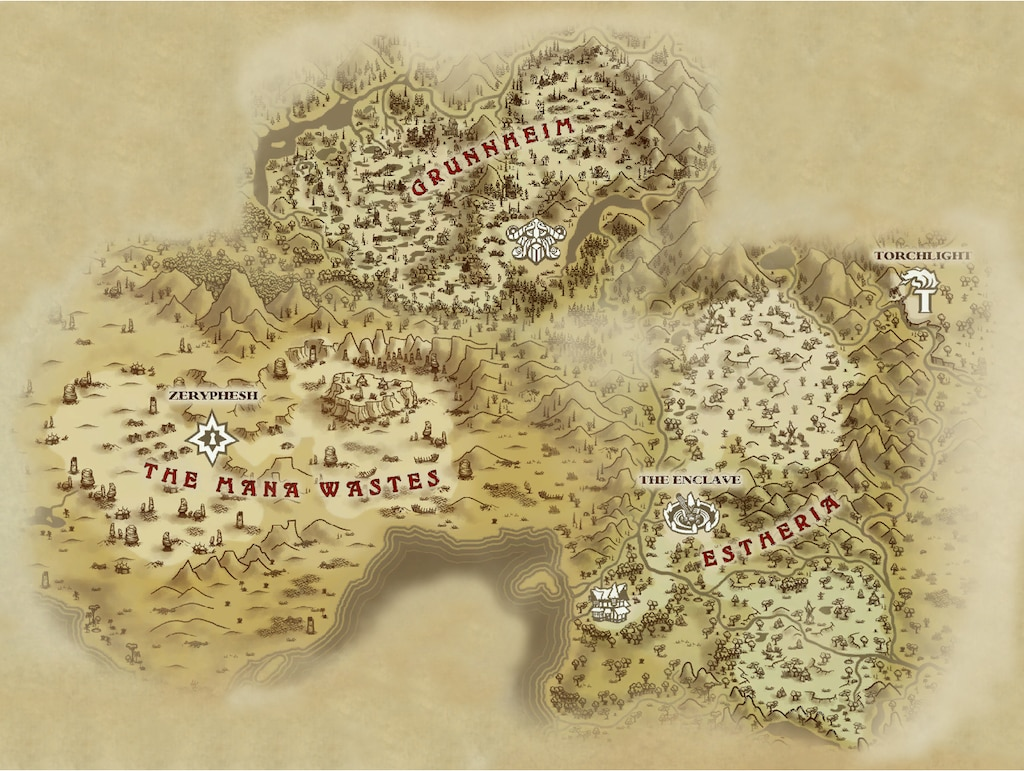 Torchlight 2 World Map.Steam Community Map Of The Main World