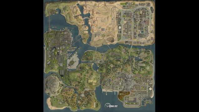 Steam Workshop :: Sapphire's GTA San Andreas Map